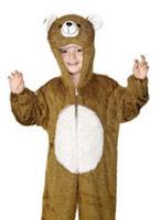 Costume d'ours en peluche pour enfants Animaux Costume Enfant