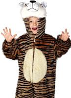 Costume de tigre en peluche pour enfants Animaux Costume Enfant