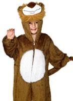 Costume de Lion en peluche pour enfants Animaux Costume Enfant