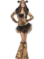 Costume de tigre de fièvre Costumes Animaux Sexy