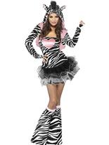 Costume de zèbre de fièvre Costumes Animaux Sexy