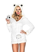 L'ours blanc neigeux Costumes Animaux Sexy