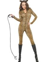 Fièvre Costume de Whiplash impression léopard Costumes Animaux Sexy