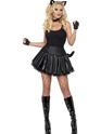 Costumes Animaux Sexy Costume de chatte mal parti de fièvre