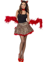 Costume de chatte fièvre Glam Party Costumes Animaux Sexy