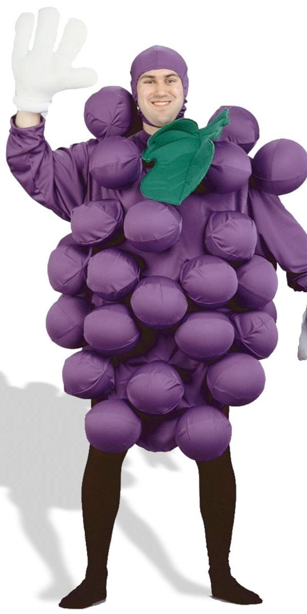 Alimentation & boisson Costume de raisin pourpre