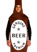 Costume de bouteille de bière Alimentation & boisson