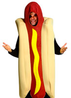 Costume de luxe de Hot-Dog Alimentation & boisson