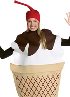 Costume de Sundae crème glacée Alimentation & boisson