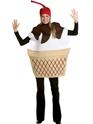 Alimentation & boisson Costume de Sundae crème glacée