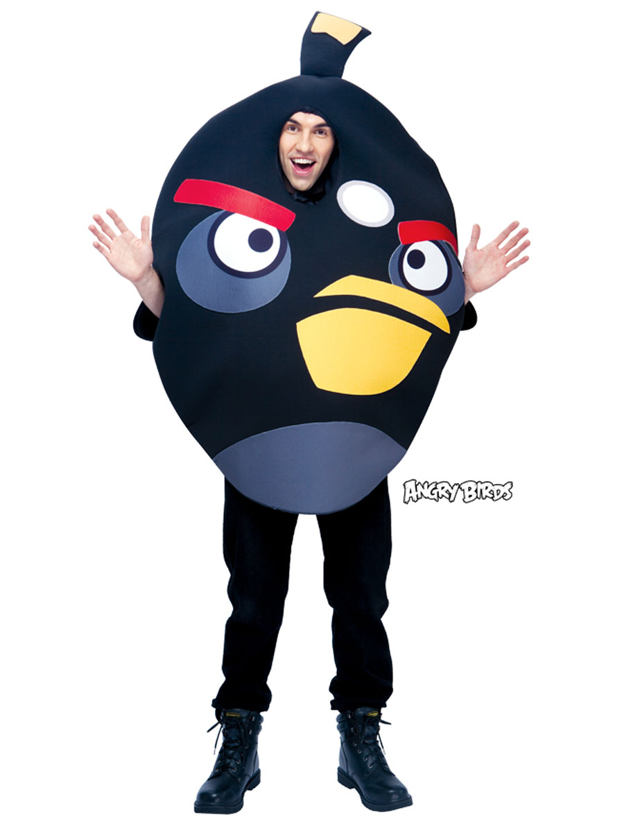 Angry birds noir costume deguisement angry birds deguisement dr le 17 05 2019 - Angry birds rouge ...