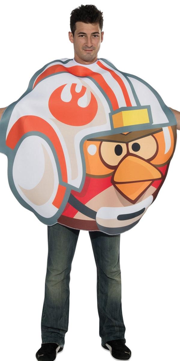 Deguisement Angry Birds Costume pilote oiseau en colère Fighter Luke
