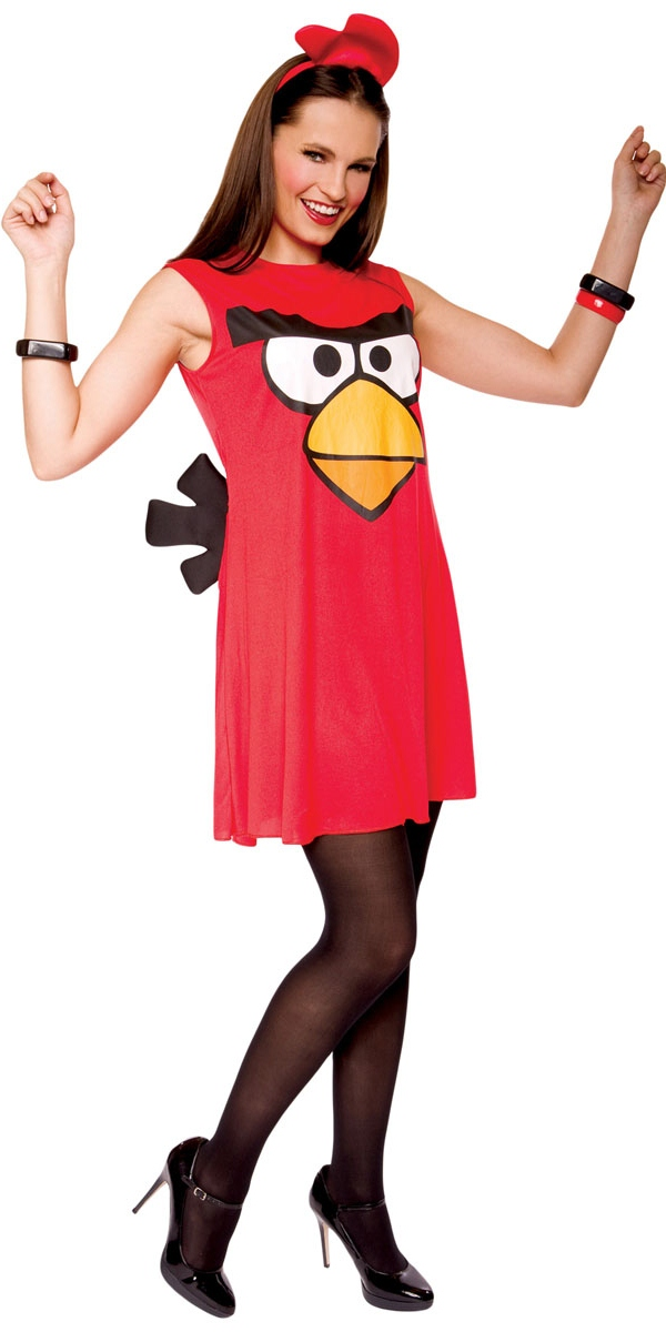 Deguisement Angry Birds Angry Birds rouge Tank Dress