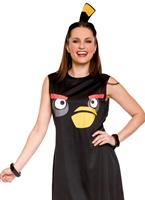 Angry Birds Black Tank Dress Deguisement Angry Birds