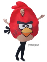 Costume Angry Birds rouge Deguisement Angry Birds