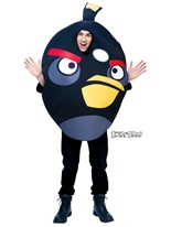Angry Birds noir Costume Deguisement Angry Birds