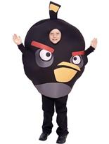 Les oiseaux en colère enfant noir Costume Deguisement Angry Birds