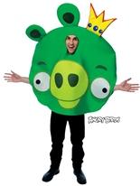 Costume de cochon pour le roi des oiseaux en colère Deguisement Angry Birds