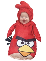 Enfant en colère oiseaux Costume rouge Deguisement Angry Birds