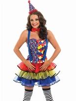 Costume de Clown sexy Deguisement Clown