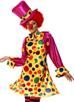 Costume de clown Lady Deguisement Clown
