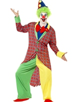 Costume de luxe La Circus Clown Deguisement Clown