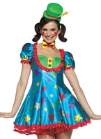 Costume femme adulte Clown étoile Deguisement Clown