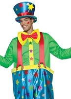 Clown Star adulte Costume masculin Deguisement Clown