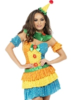 Fièvre colorée Clown Cutie Costume Deguisement Clown