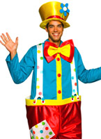 Clown Costume masculin Deguisement Clown