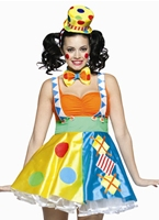 Costume de Clown pour le Dot diamant Deguisement Clown