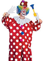 Costume de Clown en pointillé Deguisement Clown