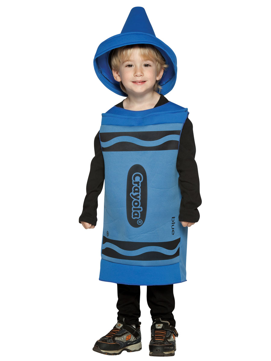 Costume crayon 4-6 Ans de Costume enfant Crayola Crayon bleu