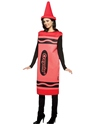 Costume crayon Crayola Crayons homme Costume rouge
