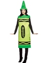 Costume crayon Crayola Crayons homme Costume vert