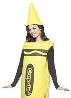 Crayola Crayons homme Costume jaune Costume crayon