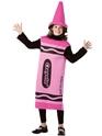 Costume crayon Enfant Crayola Crayon rose Costume 7-10ans