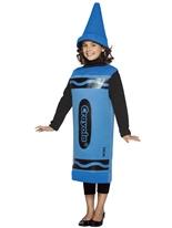 7-10 Ans de Costume enfant Crayola Crayon bleu Costume crayon