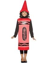 7-10 Ans de Costume enfant Crayola Crayon rouge Costume crayon