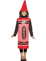 Costume crayon 7-10 Ans de Costume enfant Crayola Crayon rouge