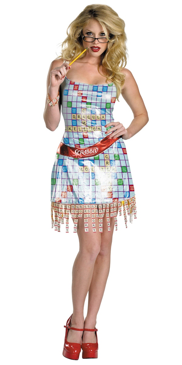 Costume Fantaisie Costume de Scrabble Sassy