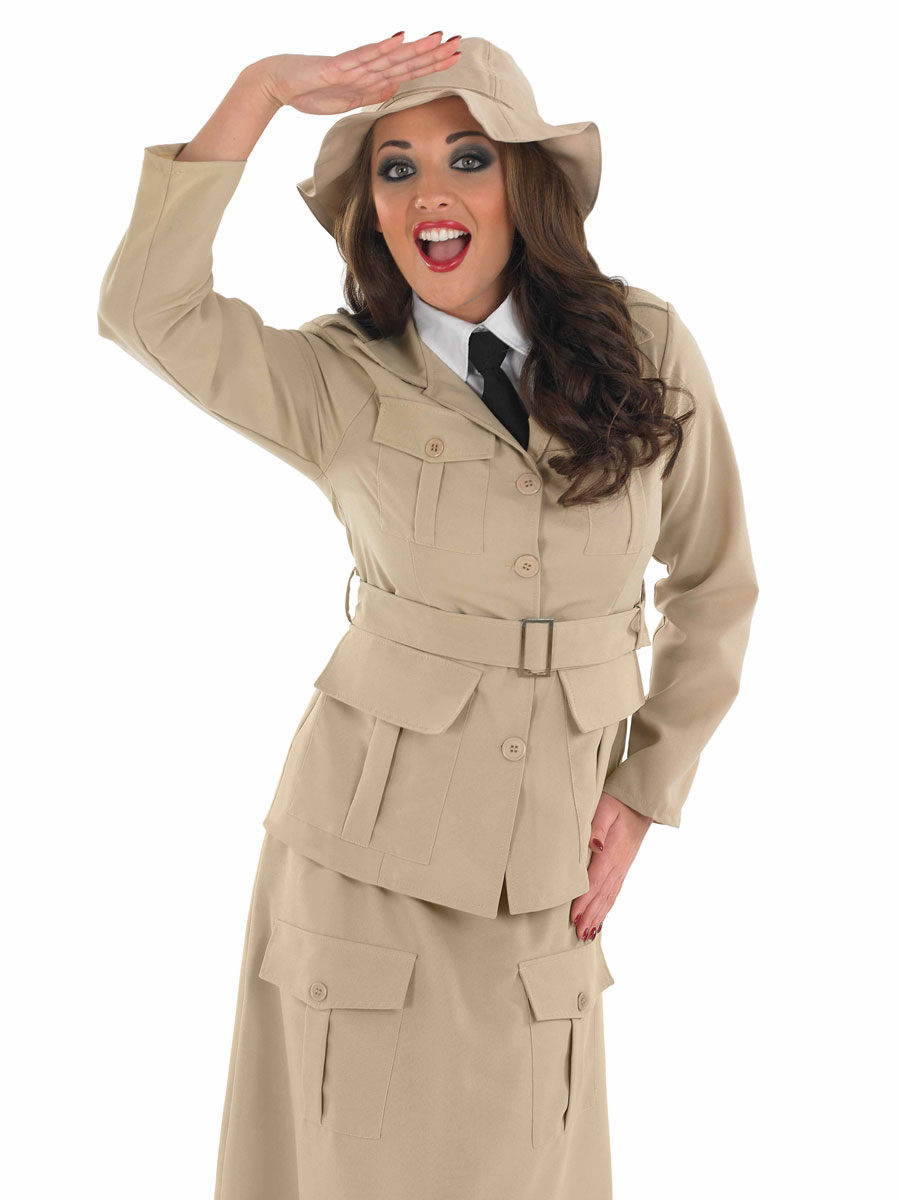 Costume Fantaisie Mesdames Safari Explorer Costume