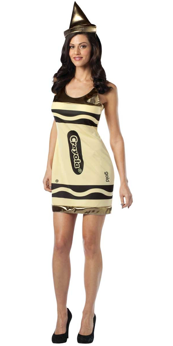 Costume Fantaisie Crayola Crayons Tank or robe Costume