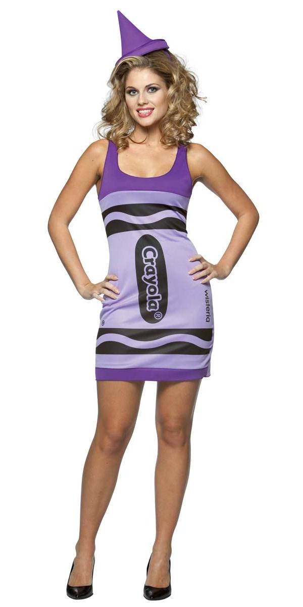 Costume Fantaisie Crayola Crayons Wisteria Tank robe Costume