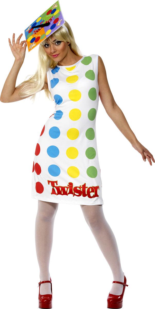 Costume Fantaisie Costume féminin Twister 80 ' s