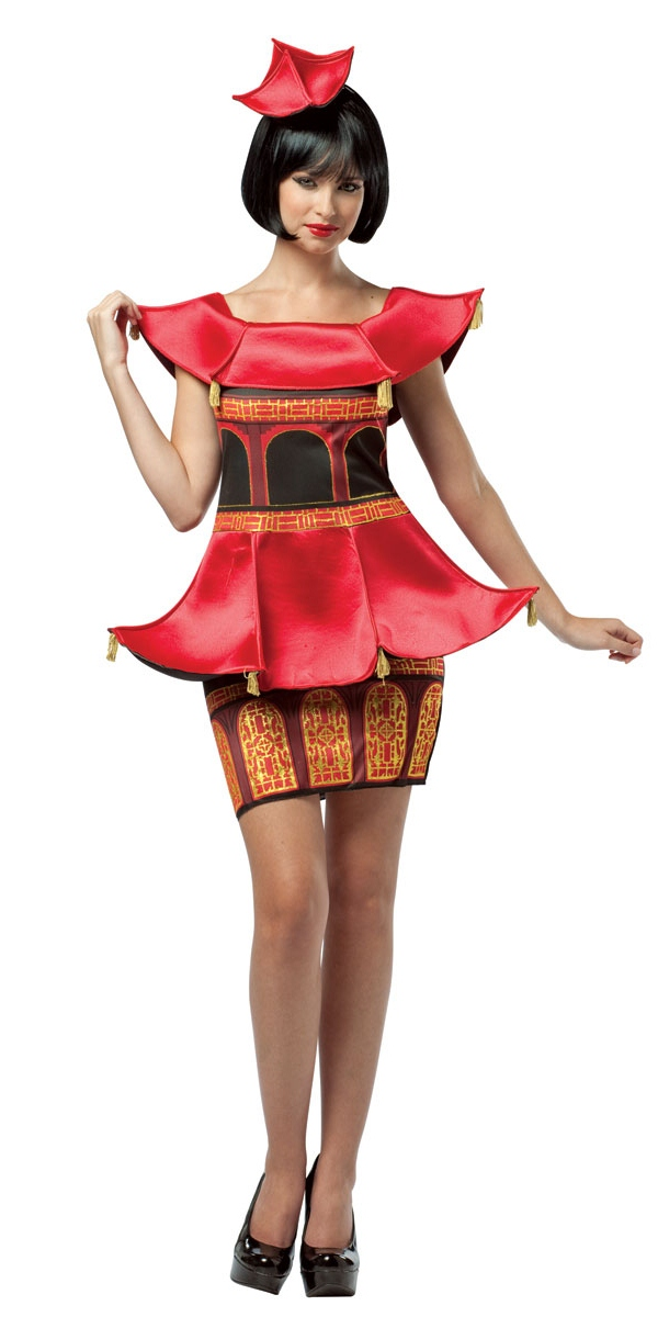 Costume Fantaisie Mesdames pagode Costume