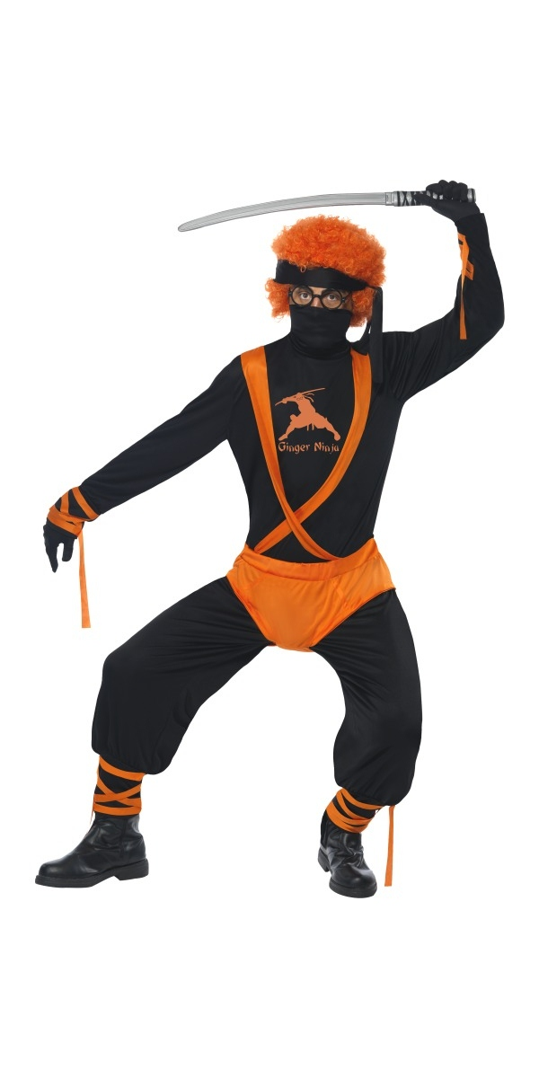 Costume Fantaisie Costume héros Ginger Ninja