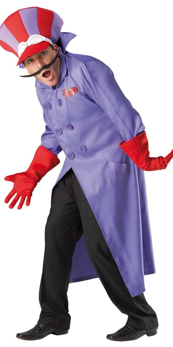 Costume Fantaisie Dick Dastardly de Costume Wacky Races