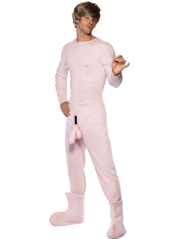 Costume Fantaisie Bruno Body rose Costume