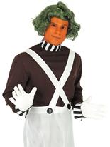 Oompa Loompa - chocolaterie travailleur Costume Costume Fantaisie